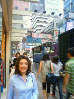 香港ぽい街並み