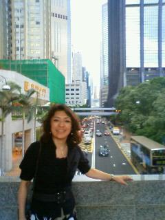 香港島に着きました