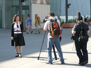 オーストラリア2日目その1 メルボルンのインタビュー、博物館など