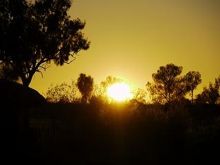 オーストラリア4日目その1 サンライズとアボリジニ体験