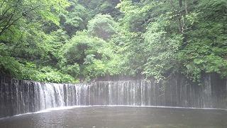 軽井沢でダウンヒル体験