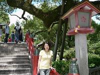 お盆休み、最終日は福岡観光です