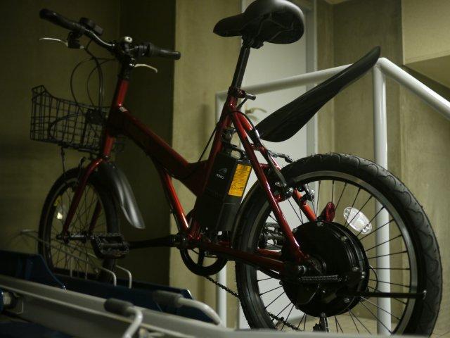 電動自転車チャレンジ中